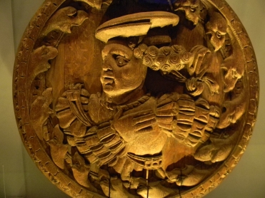 wood carving, Stirling Head, Stirling Castle