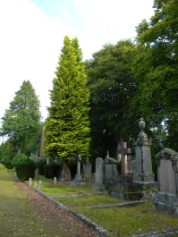 Tomnahurich Cemetery hill, Inverness