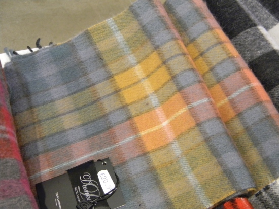 scarf in shop at St. Enoch mall, Glasgow