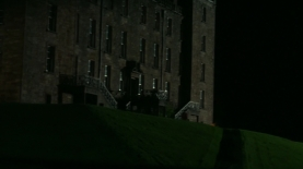 RRear view, night, Bellmont Estate. Image by STARZ/Sony Pictures Television, via Outlander-Online.com