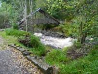 Carie Burn, bridge, Carie Forest, Black Wood of Rannoch, south of Loch Rannoch. Image C. L. Tangenberg