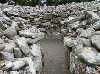 chambered cairn. Image by C. L. Tangenberg