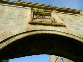 archway of Jamie's 1st BJR flogging