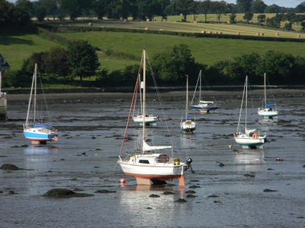 low tide on the ness