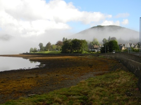 Loch Long shore, Arrochar, Argyll, from Seabank B&B