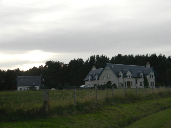 Approach to Daviot Lodge